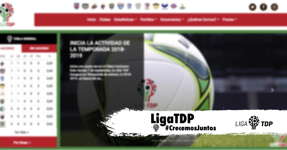 Liga Bbva Calendario Y Resultados.Liga Tdp